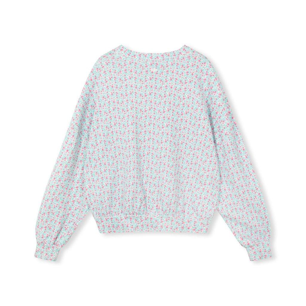 10Days Ecru Liberty Sweater Floral 20-802-1205