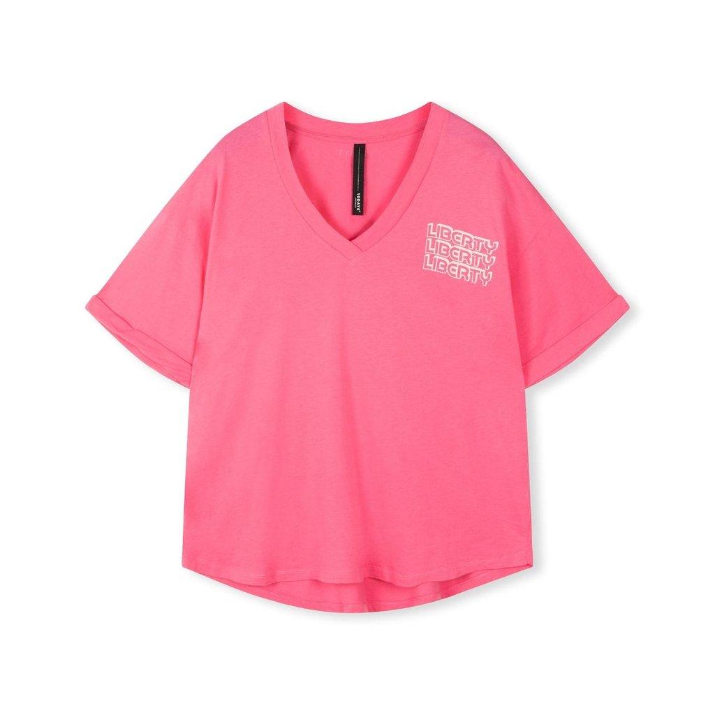 10Days Pink Tee Liberty 20-740-1205