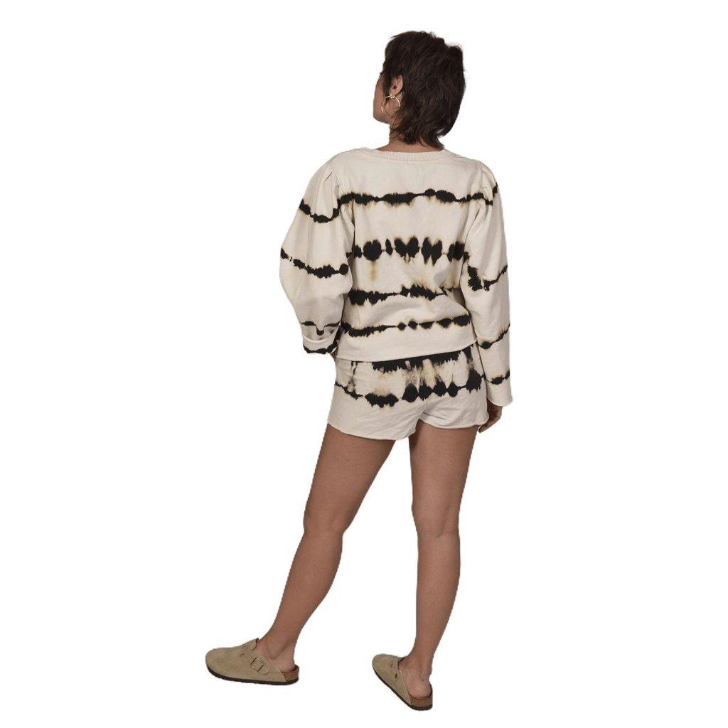 10Days Silver White shorts tie dye 20-204-1202