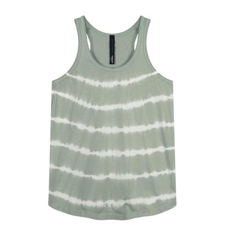 10Days 10Days Pistache singlet tie dye 20-455-1202