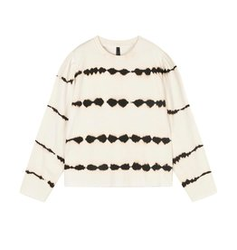 10Days 10Days Silver White butterfly sweater tie dye 20-804-1202