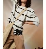 10Days Silver White butterfly sweater tie dye 20-804-1202