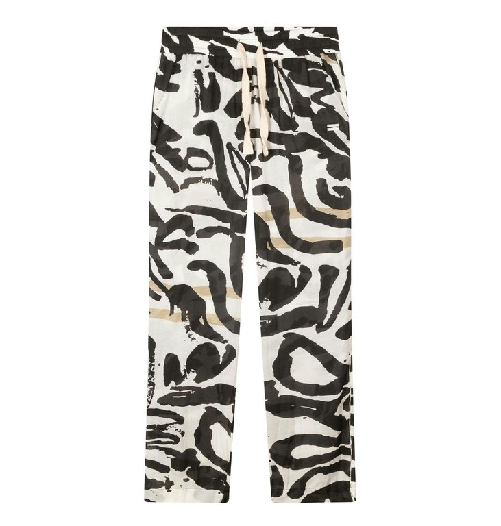 10Days 10Days Ecru wide leg pants brush 20-013-1202