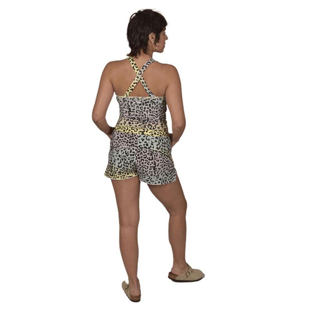 10Days Pistache shorts leopard sunset 20-202-1202