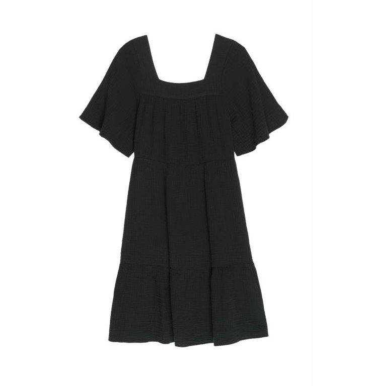 Rails Rails Black Dress Valentina