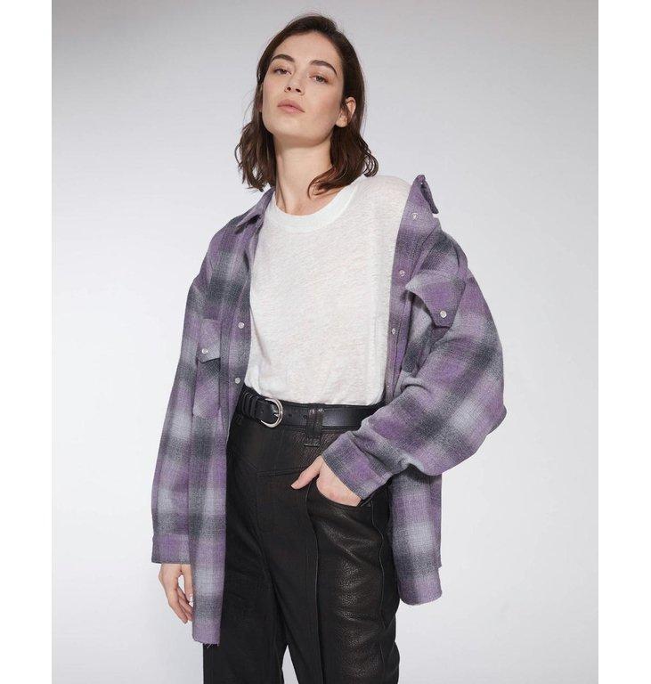 IRO IRO Purple Jacket Gowest