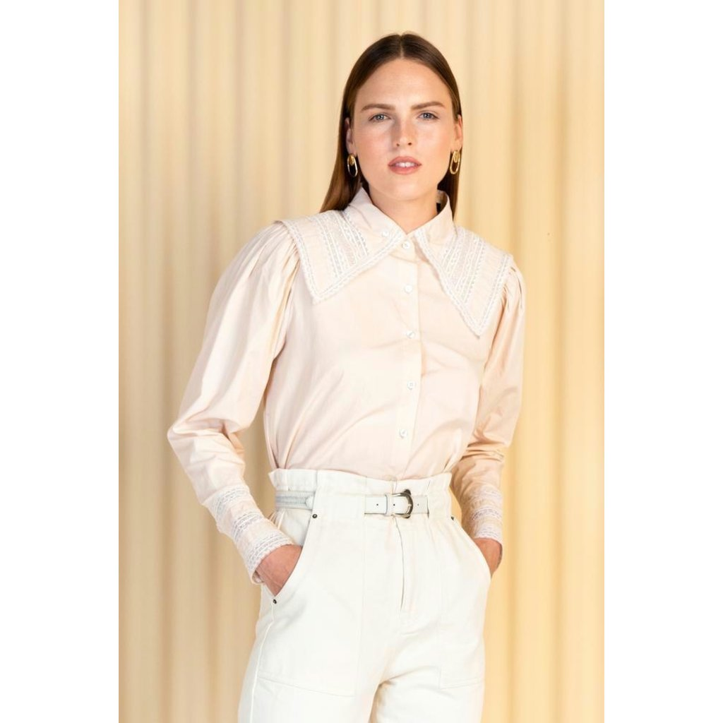 Magali Pascal Soft Pink Shirt Denise
