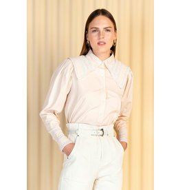 Magali Pascal Magali Pascal Soft Pink Shirt Denise