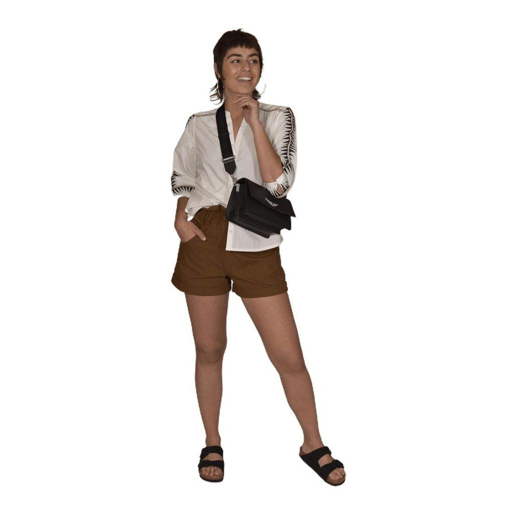 Ba&sh Kaki Shorts Luce Short
