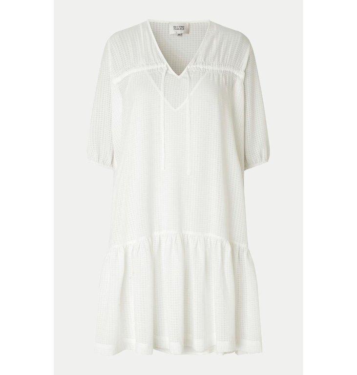 Second Female Second Female Bright White Tara Dress 54787