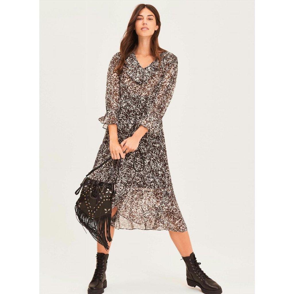 Ba&sh Black Dress Erym