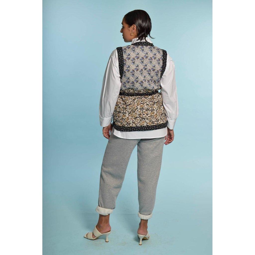 Second Female Light Grey Carmella Sweat Pants 55122