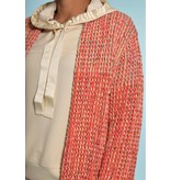 Marc Cain Red Cardigan RC1110-M05