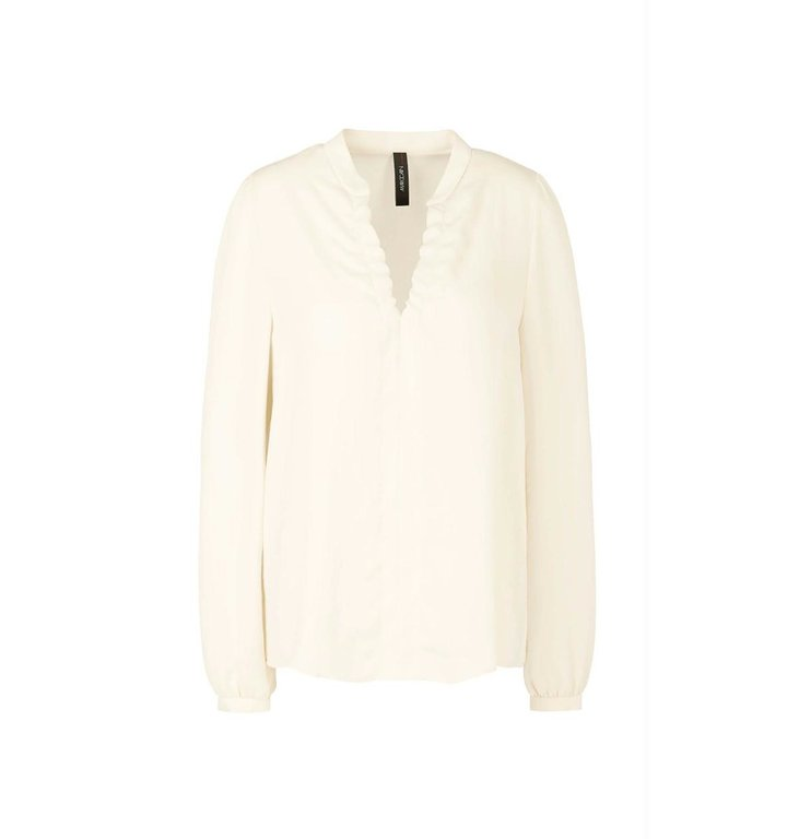 Marc Cain Marc Cain Off White Blouse RC5114-W39