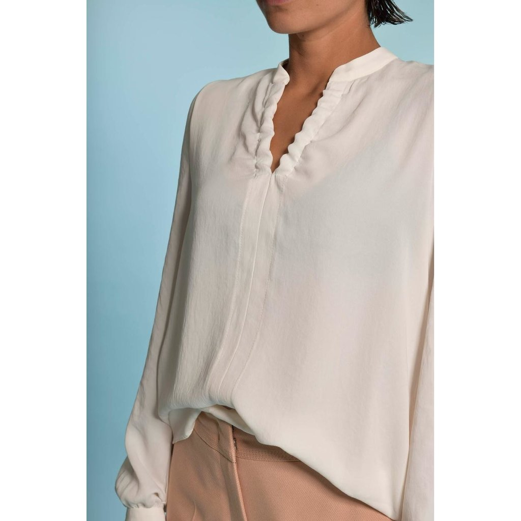 Marc Cain Off White Blouse RC5114-W39