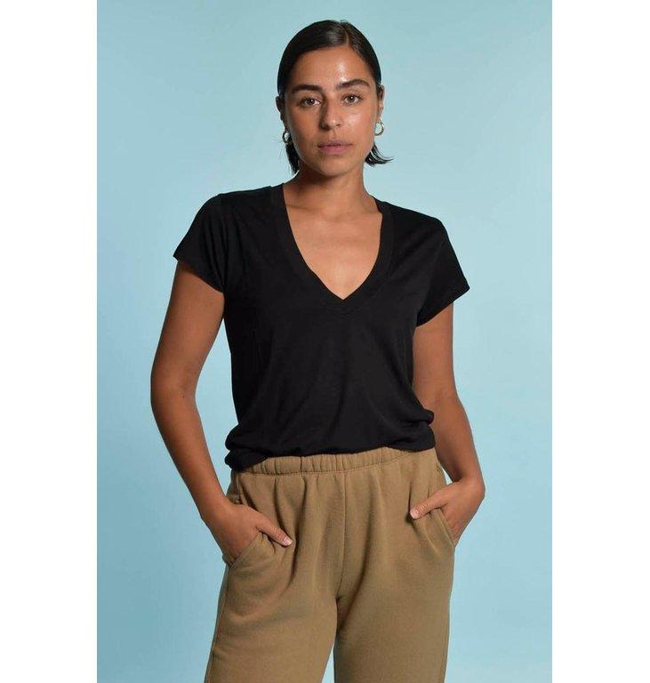 IRO IRO Black T-shirt Hemera