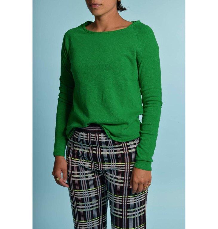 American Vintage American Vintage Green Shirt Son31g