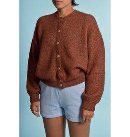 American Vintage American Vintage Brown Cardigan Zabi255