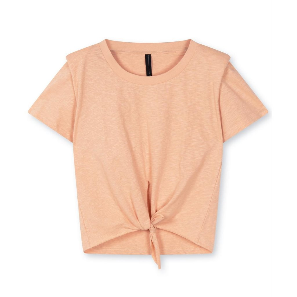 10Days Roest padded knotted tee 20-740-1203