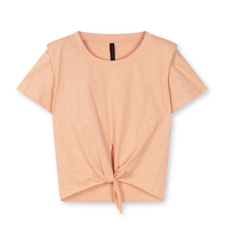 10Days 10Days Roest padded knotted tee 20-740-1203