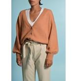 American Vintage Orange Cardigan Tid19a