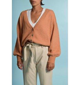 American Vintage American Vintage Orange Cardigan Tid19a