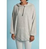 American Vintage Grey Hoodie Knit Dam18d