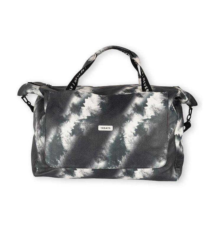10Days 10Days Black weekend bag tie dye 20-964-1203