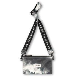 10Days 10Days Black mini pouch tie dye 20-961-1203