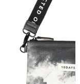 10Days Black mini pouch tie dye 20-961-1203