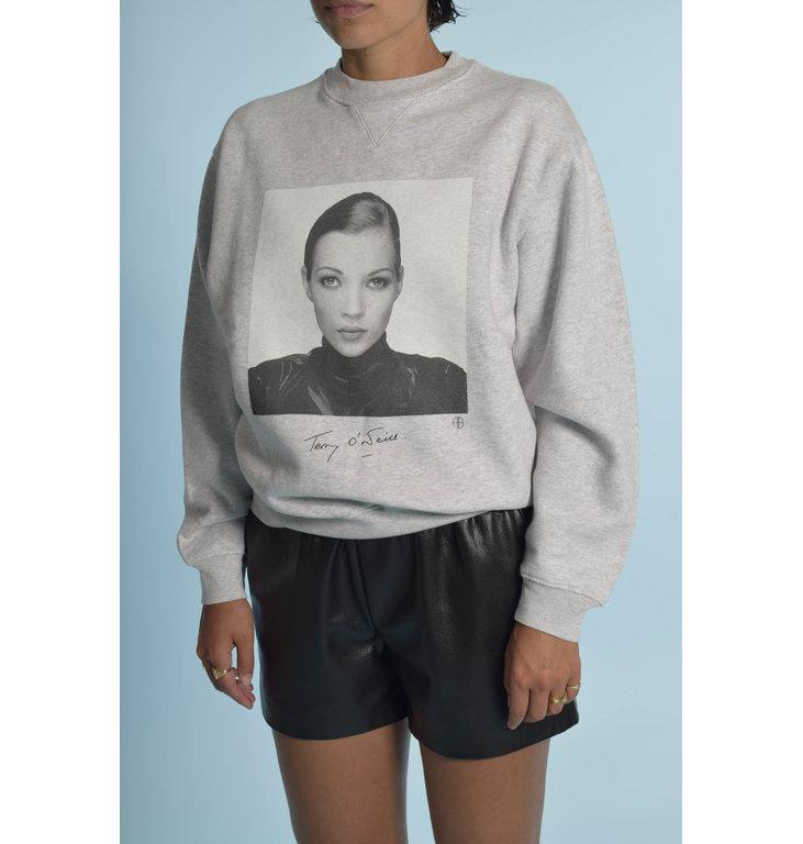 Anine Bing Anine Bing Grey Ramona Sweatshirt Ab X to Kate A-08-5055-030