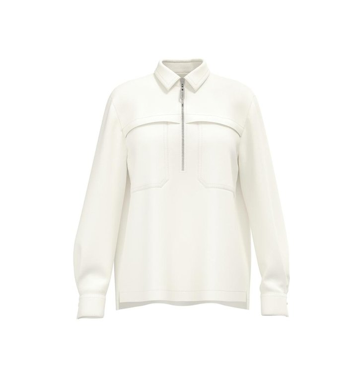 Marc Cain Marc Cain Off White Blouse RS5105-W84