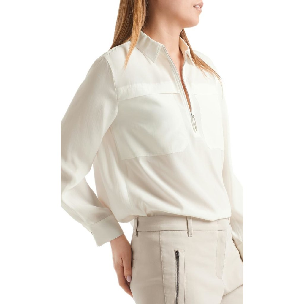Marc Cain Off White Blouse RS5105-W84