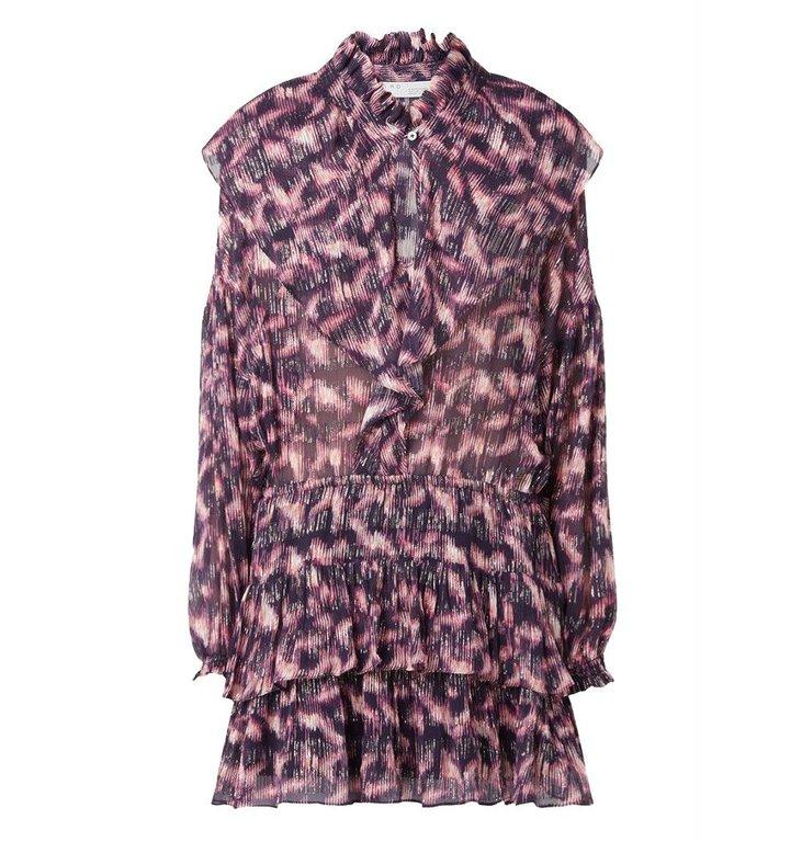 IRO IRO Purple Dress Tyga