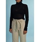 American Vintage Black Shirt Kol Mas08