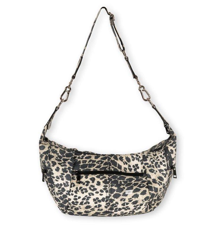 10Days 10Days Cement cross body bag leopard 20-958-1203