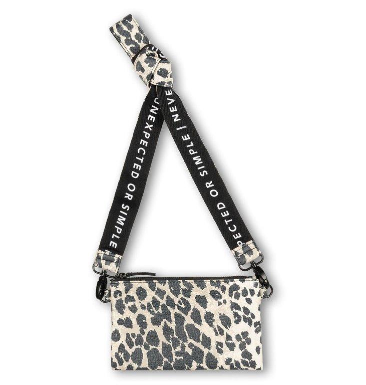 10Days 10Days Cement mini pouch leopard 20-955-1203