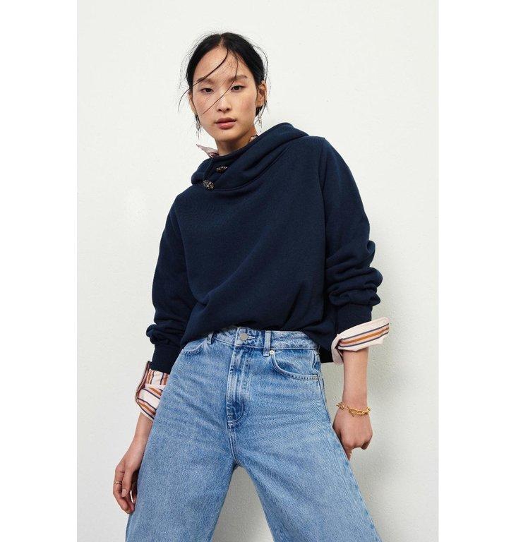 Ba&sh Ba&sh Blue Daren Sweatshirt 1H21Dare