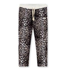 10Days 10Days Ecru cropped jogger leopard 20-003-1203