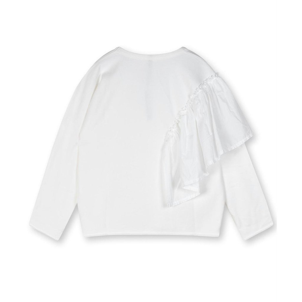 10Days White sweater voile 20-801-1203