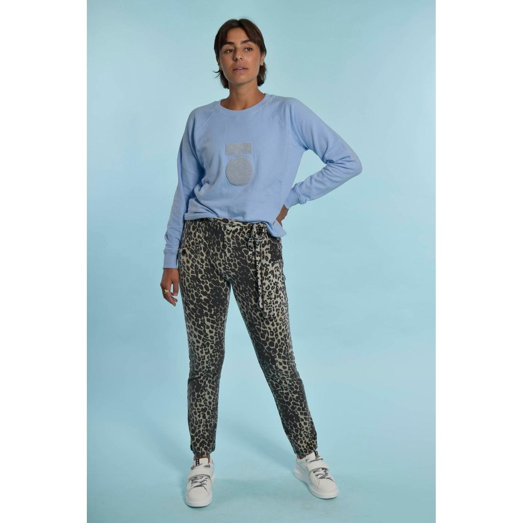 10Days Classic Blue Sweater Terry 20-812-1203