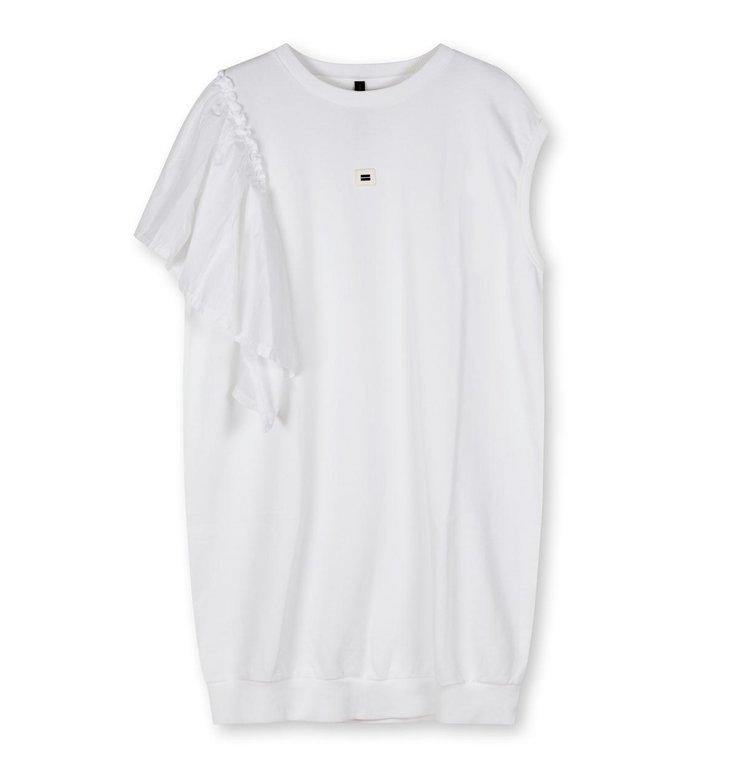 10Days 10Days White tunic voile 20-305-1203