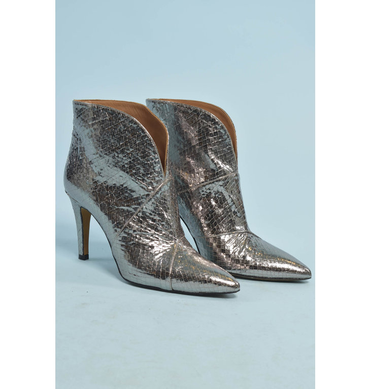 Toral Shoes Toral Shoes Silver Laarzen 12601