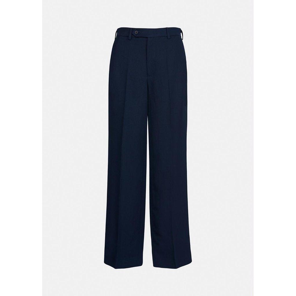 Essentiel Antwerp Navy Pants Ayan