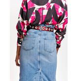 Essentiel Antwerp Blue Jeans Skirt Arrow