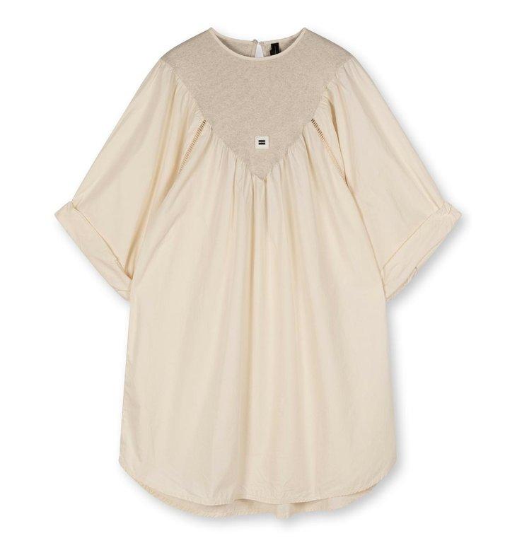 10Days 10Days Ecru a-line dress 20-333-1203
