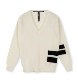 10Days 10Days Soft White Melee the knit sweater 20-611-1203