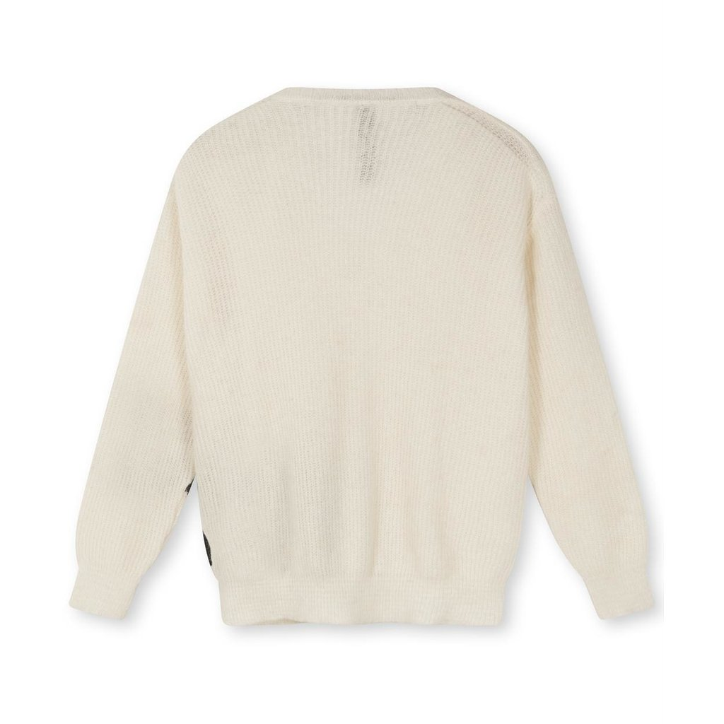 10Days Soft White Melee the knit sweater 20-611-1203