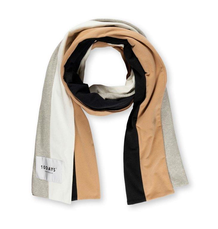 10Days 10Days Ecru college scarf 20-904-1203