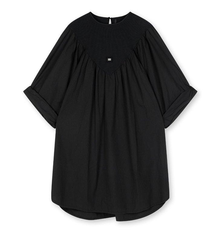 10Days 10Days Almost Black a-line dress 20-333-1203